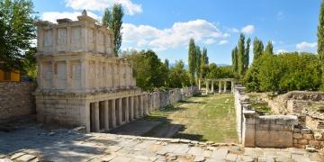 Aphrodisias Antik Kentinde son 3 yılda yapılan arkeolojik keşifler