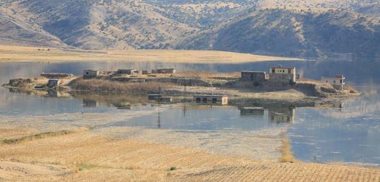 Ilısu Barajının suları 5 bin yıllık antik liman Tel-Fafan'ı yuttu