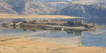Ilısu Barajının suları 5 bin yıllık antik liman Tel-Fafanı yuttu