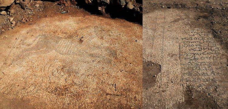 Şanlıurfa'da definecilerin çıkardığı mozaikler kaçırılamadan yakalandı