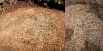 Şanlıurfada definecilerin çıkardığı mozaikler kaçırılamadan yakalandı