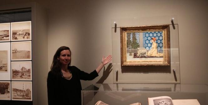 Osman Hamdi Beyin Kuran Okuyan Kız tablosu British Museumda