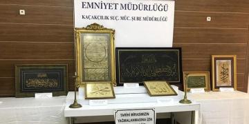 Çalınan tarihi eserler mezatta yakalandı, müzayede evlerine baskın yapıldı
