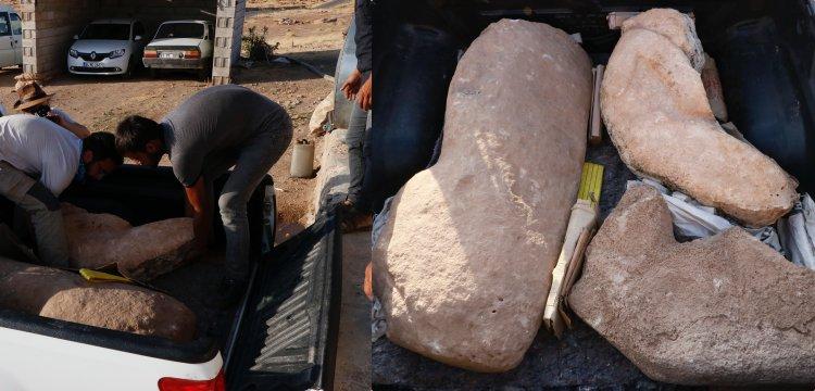 Prof. Dr. Necmi Karul, Karahantepe'de bulunan heykelleri açıkladı