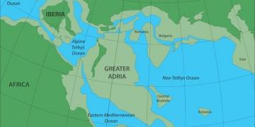Avrupanın Altına Gömülmüş Kayıp Kıta: Büyük Adria