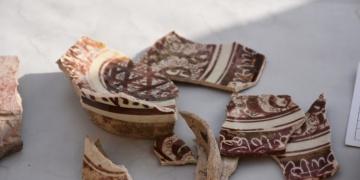 Ani Antik Kenti arkeoloji kazılarında seramik eser kalıntıları bulundu