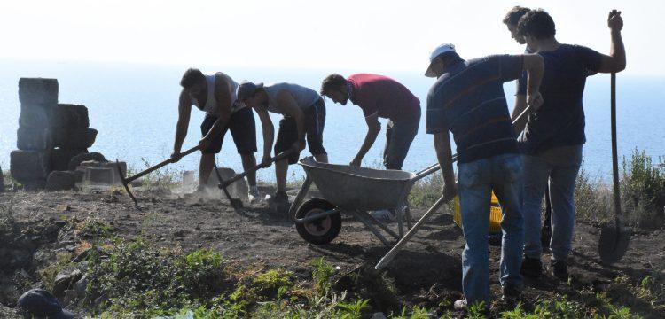 Tieion'daki antik tapınağın ayağa kaldırılması hedefleniyor