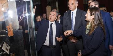 Bakan Ersoy İstanbul Arkeoloji Müzelerini ziyaret etti