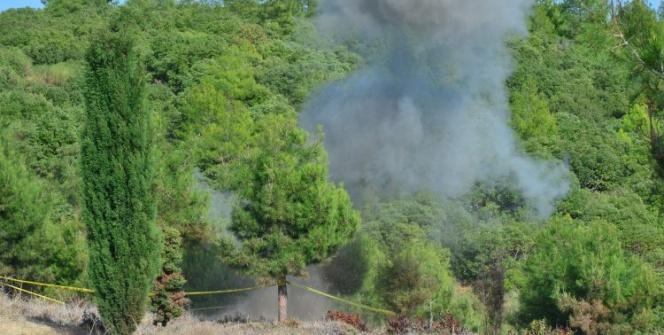 Çanakkale Savaşlarında kullanılan patlamamış el bombası böyle patlatıldı