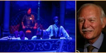 5. Muradın torununun torunu dedesi adına sahnelenen baleyi izledi