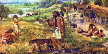 What is the Neolithic Agricultural Revolution and the Origins of Private Property