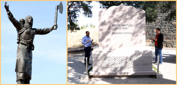 Nene Hatun'un mezarı restorasyon sonrası yeniden ziyarete açıldı