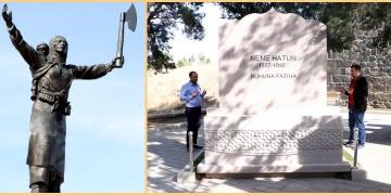 Nene Hatunun mezarı restorasyon sonrası yeniden ziyarete açıldı