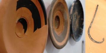 Assosda Helenistik dönem balık tabakları ve olta iğnesi bulundu