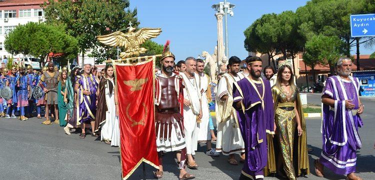 Afrodisyas festivali renkli görüntülerle başladı
