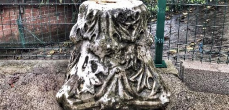 Bartın'da bir köy evinde bulunan tarihi sütun başlığı müzeye kaldırıldı