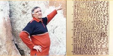 Erzurumda murç çakılan 3 bin yıllık Urartu yazıtı için uyarı yapıldı