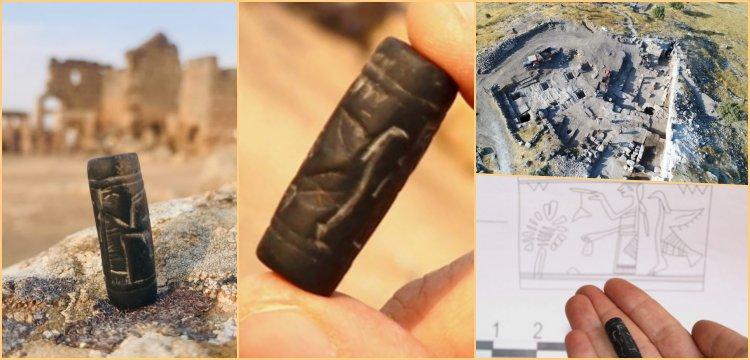 Assyrian seal unearthed in Zerzevan Castle in Diyarbakır