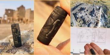Diyarbakırdaki Zerzevan Kalesinde 3 bin yıllık Asur Mühürü bulundu
