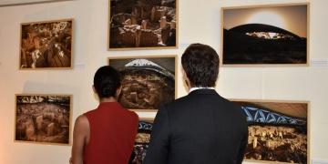 Göbeklitepe Romada panel ve fotoğraf sergisi ile tanıtıldı