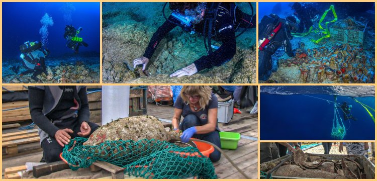 Underwater archaeological research continues Antikythera shipwreck