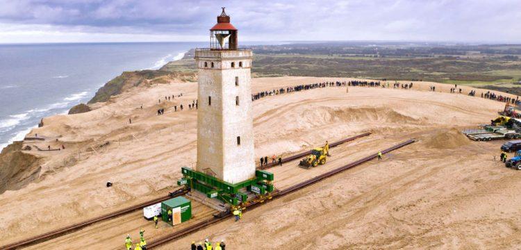 Rubjerg Knude deniz feneri 80 metre öteye taşınacak