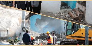 Şanlıurfada Kızılkoyun mağaraları projesi için 35 yapı yıkıldı