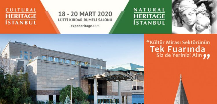 Heritage İstanbul 2020 farklı mekan ve farklı tarihte yapılacak