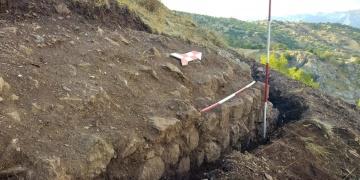 Paluda Bizans devrinden kalma karakol kalesi kalıntıları bulundu