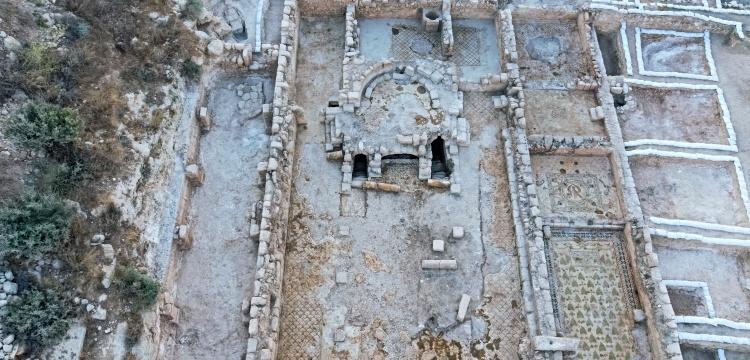 Batı Kudüs'te 1500 yıllık kilise ortaya çıkarıldı