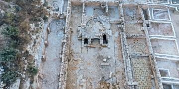 Batı Kudüste 1500 yıllık kilise ortaya çıkarıldı