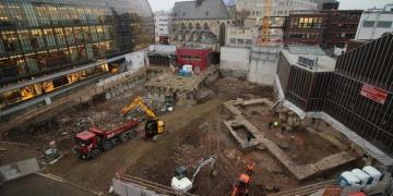 Kölndeki Antik Roma kütüphanesinin erken açılması hedefleniyor