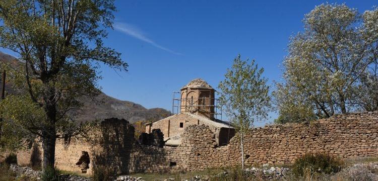 Gümüşhane'deki İmera Manastırı restore ediliyor