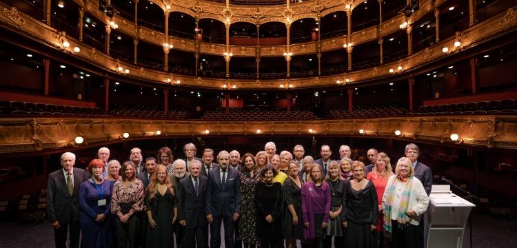 Boğaziçi Üniversitesi Europa Nostra Ödülünü törenle aldı