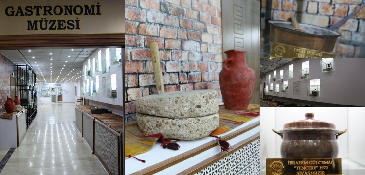 Sivas'ta Gelenekten Geleceğe Gastronomi Müzesi 24 saat ziyarete açık