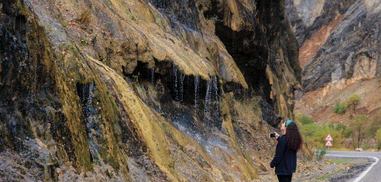 Tunceli'nin Ağlayan Kayalar'ı