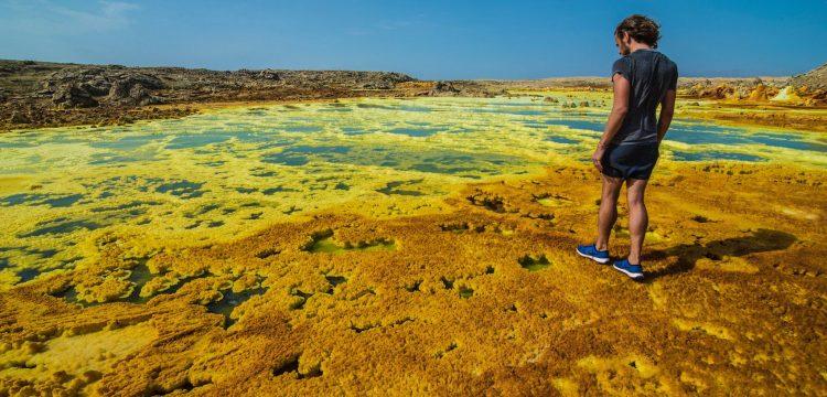 Dünya'da yaşamın oluşmadığı tek yer: Dallol gölleri