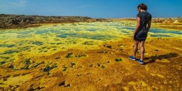 Dünyada yaşamın oluşmadığı tek yer: Dallol gölleri