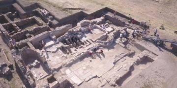 Metropolis antik kentinde 1500 yıllık mühendislik harikası bina keşfedildi