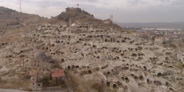Kapadokyada bulunan tarihi yerleşim alanı turizme açılıyor