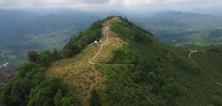 Kurul Kalesi'ne ziyaretçi karşılama alanı ve kazı evi yapılacak