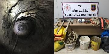 Siirtte Milli Parka 20 metrelik kuyu kazan 6 defineci yakalandı