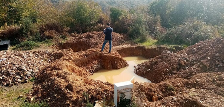 Anadolu Kavağı'nda iş makinesi ile ormanı kazan 7 defineci yakalandı