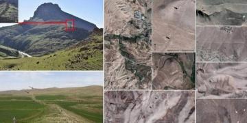 İranda taştan örülmüş 115 kilometrelik tarihi set keşfedildi