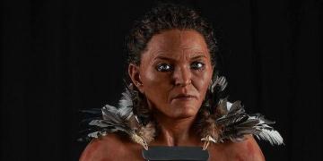 İsveçte 7 bin yıl önce yaşayan kadının vücudu böyle canlandırıldı