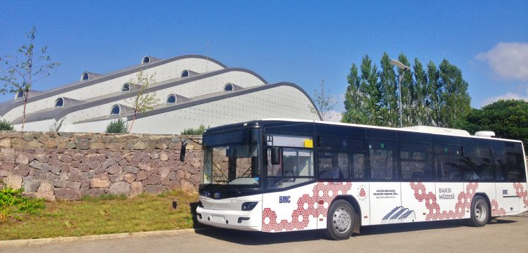 Ziyaretçiler Baksı Müzesi'ne BMC'nin otobüsü ile gidecek