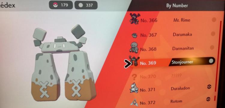 Pokemon karakteri Stonjourner Antik Stonehenge'i temsil ediyor