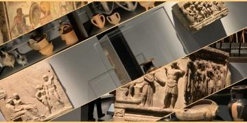 Troyadan çalınan eserler İngilteredeki Troy: Mit ve Gerçek sergisinde