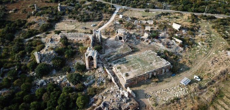 Mersin'de gemicilerin kullandığı 1500 yıllık antik hamam keşfedildi