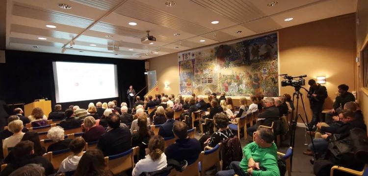 Göbeklitepe ve Karahantepe Stockholm'de tanıtıldı